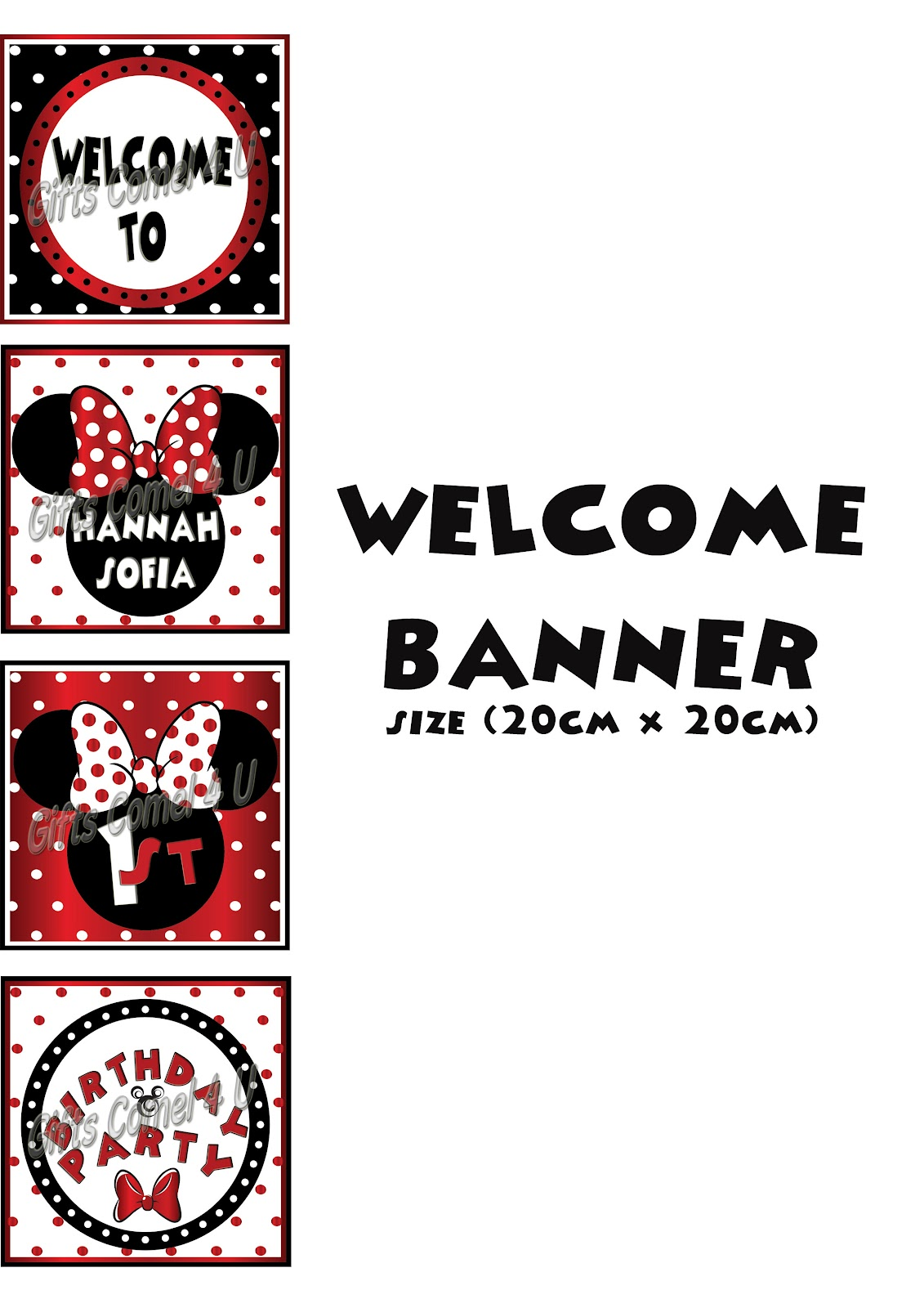 welcome banner sample
