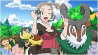Pokemon TV BW DA Pansy Helioptile Gogoat Noivern