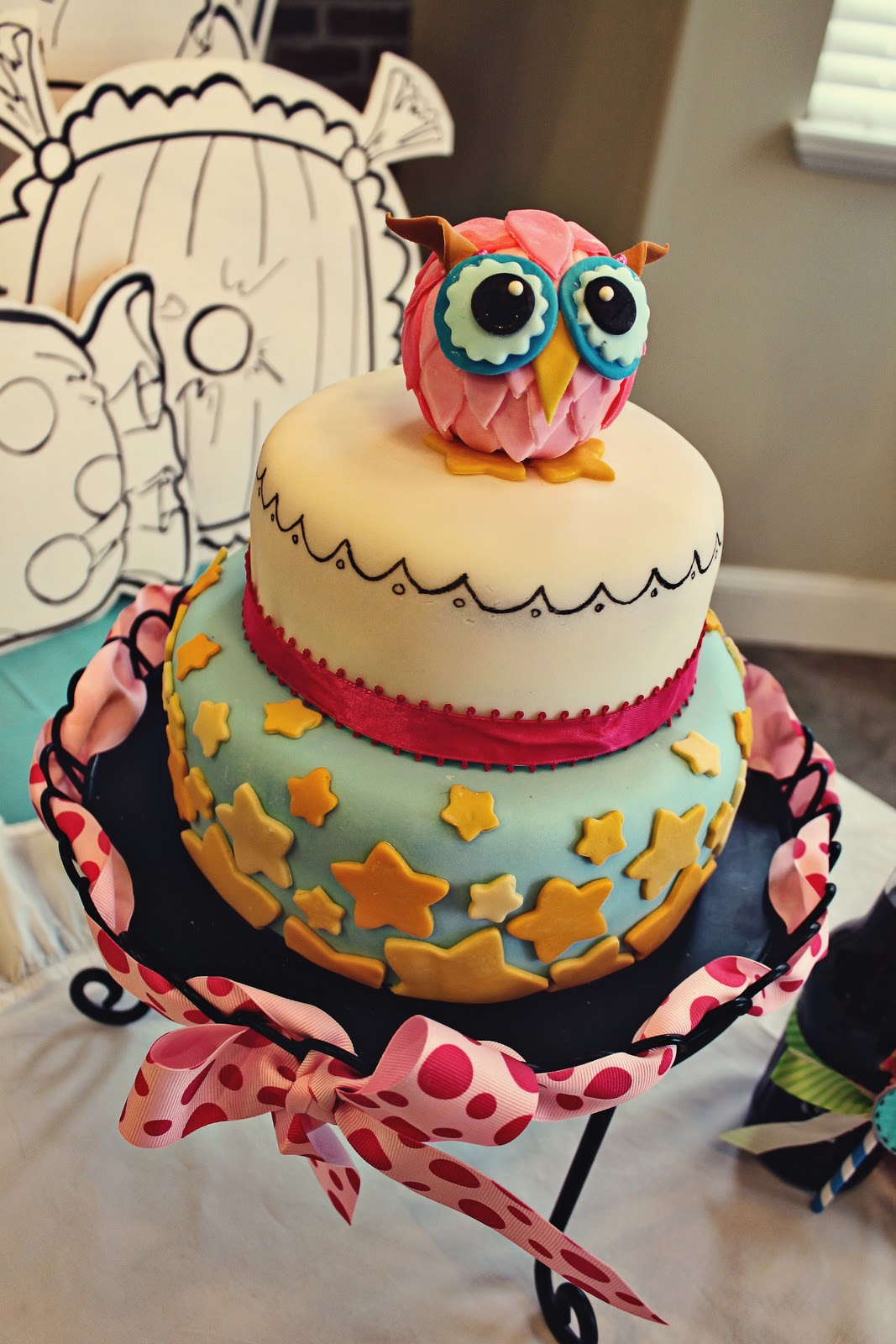 Images For Cute Cake : Pull out a Plum: Owl Cake