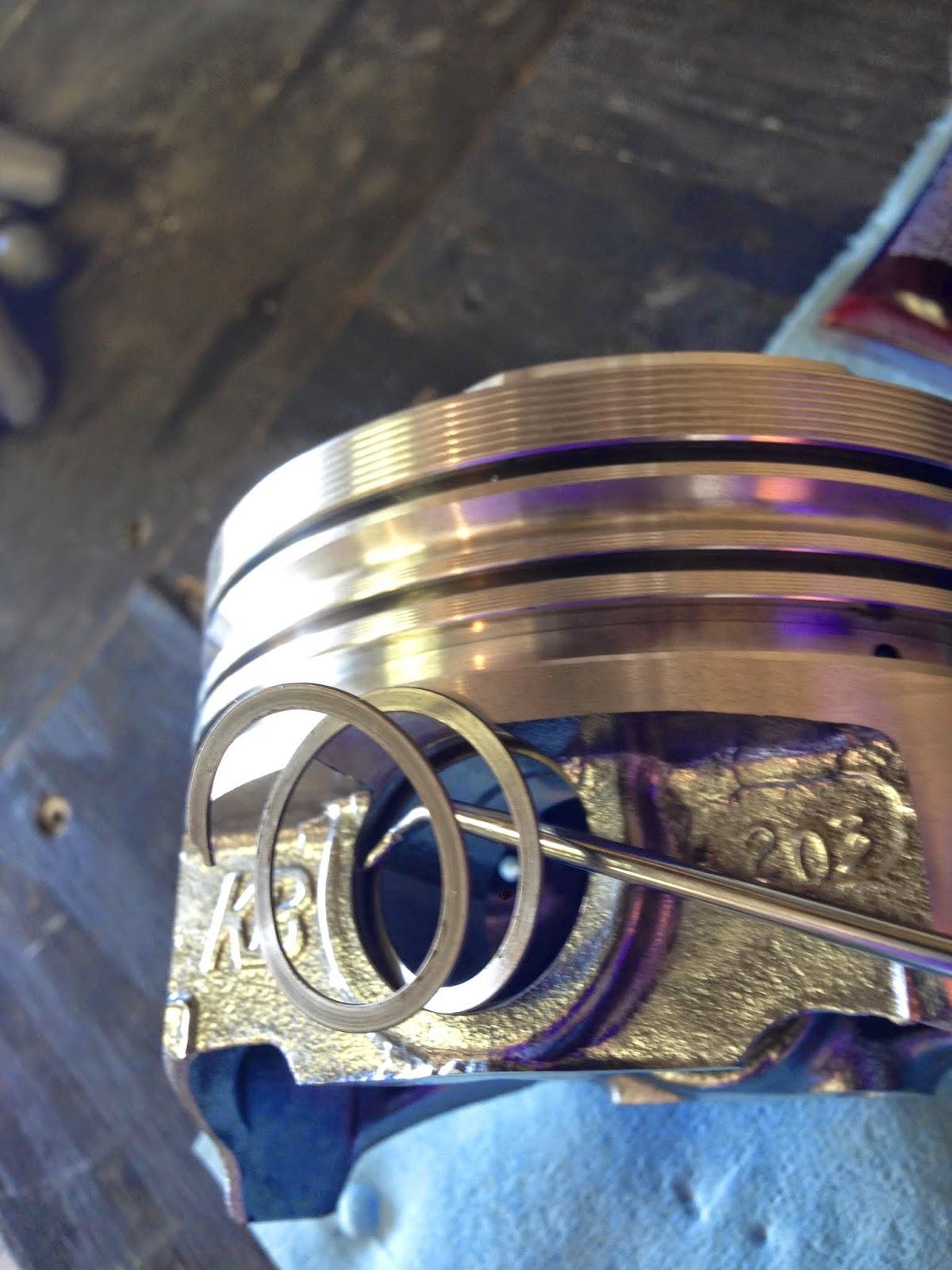67 Malibu 454 Build: Engine Build Pre-Assembly (piston ...