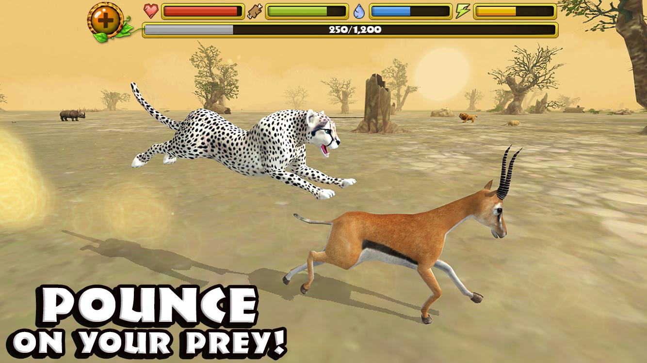 Android cheetah simulator apk indir bitibika