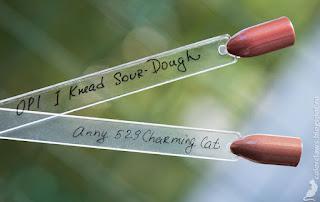 OPI I Knead Sour-dough + Anny Charming Cat