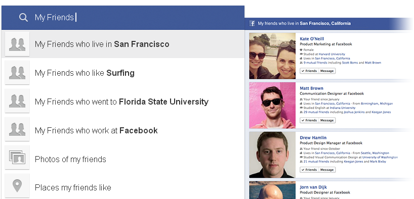 how to use graph search for targeting in facebook
