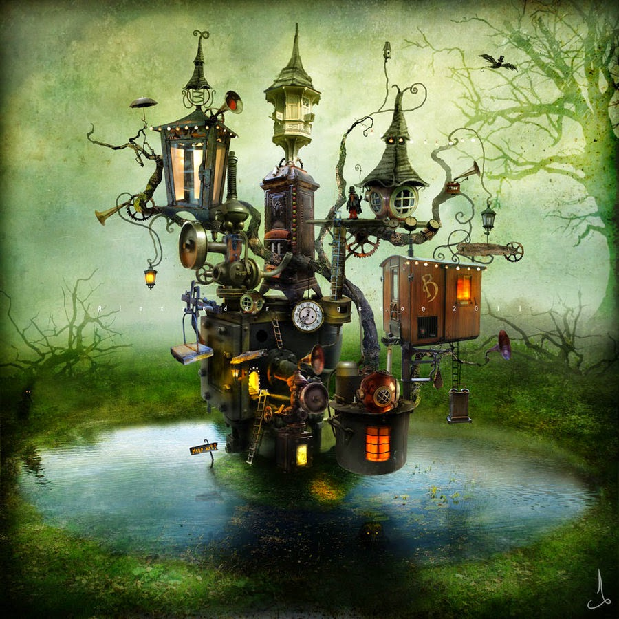 15-Alexander-Jansson-Fairy-tale-Worlds-in-Surreal-Paintings-www-designstack-co