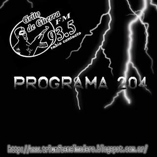 Grito de Guerra Nº 204 (09/07/2012)