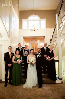 Neal, Darcie & Wedding Party - Posted by Patricia Stimac, Seattle Wedding Officiant