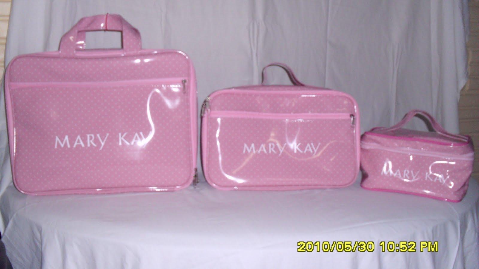 Bolsa Dourada Mary Kay : Duda bolsas mala t?rmica mary kay e necessaire