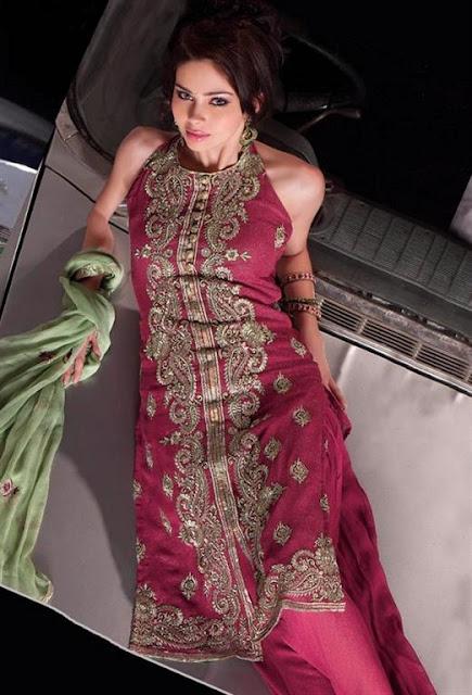 Bridal Shalwaar kameez dresses 2012