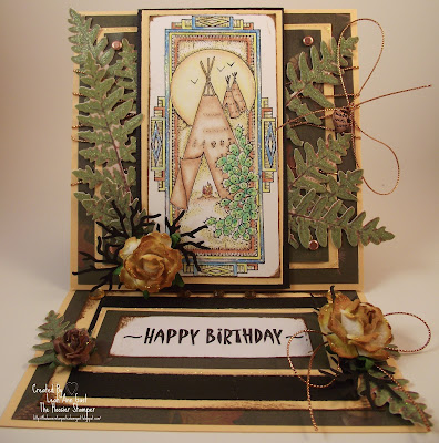 Handmade Ooak Cards By The Hoosier Stamper Native American Indian
