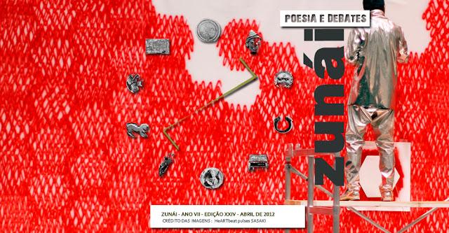 ZUNÁI - Revista de poesia e debates - Cadernos da Palestina