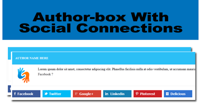 How to Add Author-Box Blogger
