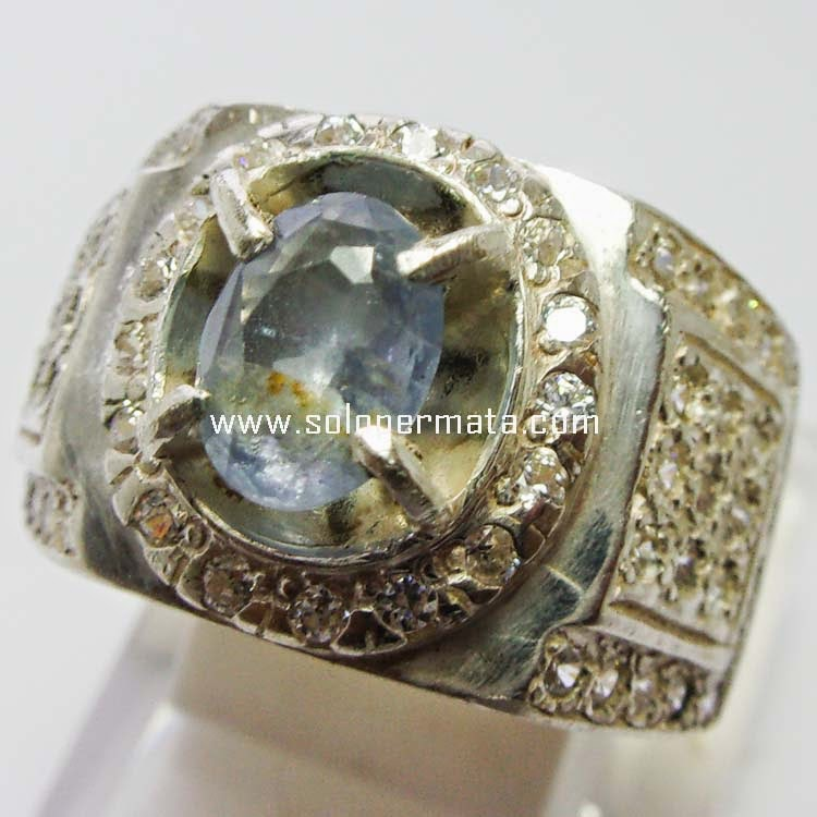 Batu Permata Blue Sapphire Ceylon