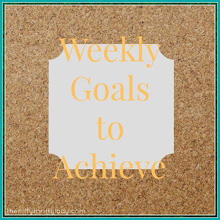 Learn how to set goals that make your week  more productive as I share my personal goals