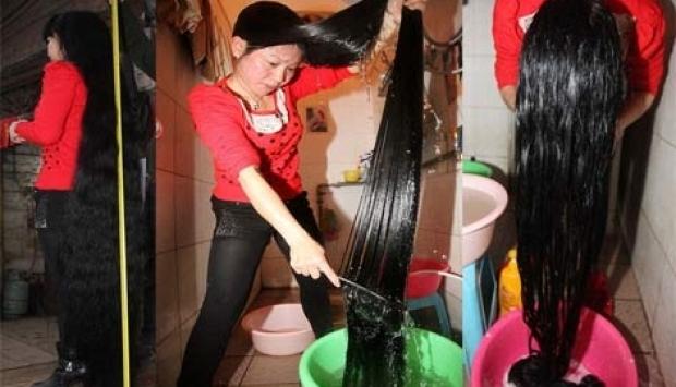 فتاة غسلت شعرها بمغلى قشر الثوم لمدة شهر تعرفى على ما حدث لشعرها !!