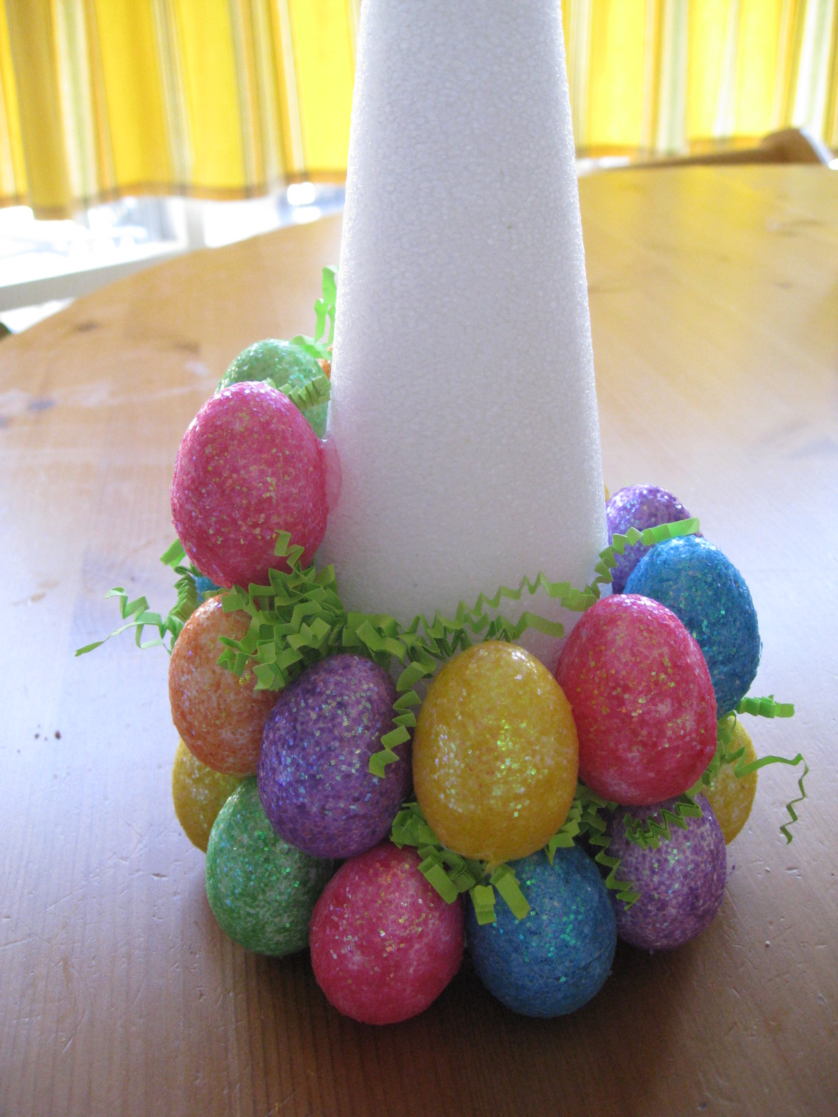 Sweet floweret easter egg tree tutorial How to make an easter egg tree