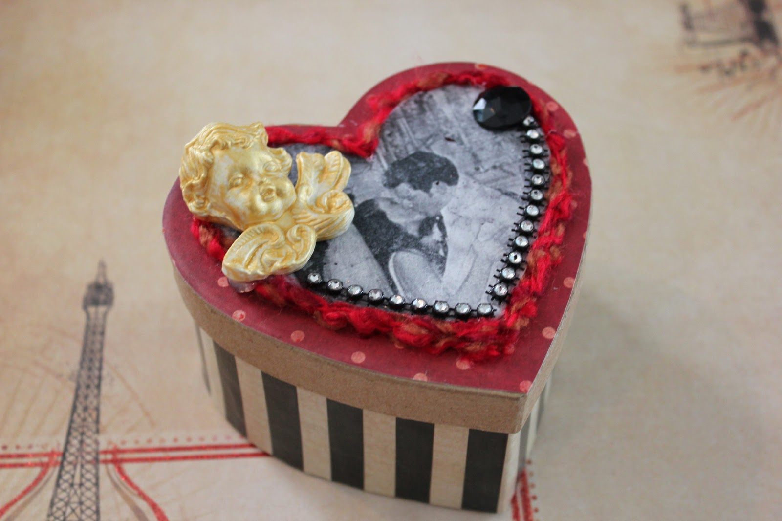 Valentines Day Gift Box {made with LOVE and Mod Podge}