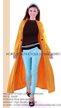 NBC0057 STYLE LONG CARDIGAN