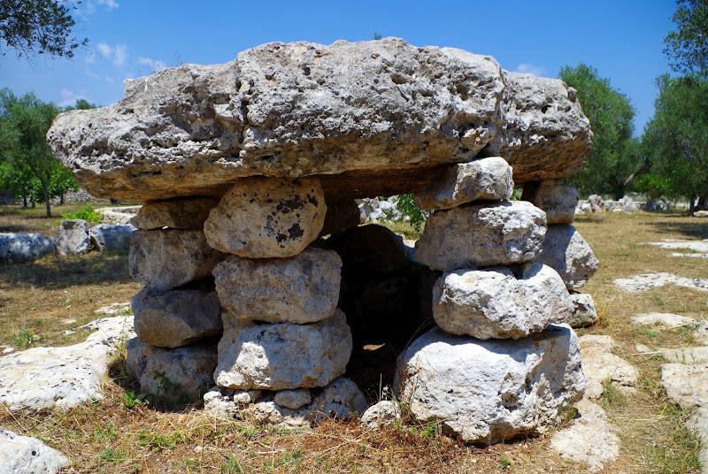 Dolmen in Apulien: Li Scusi