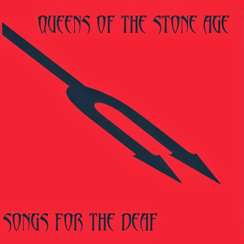 Portada de Songs for the deaf de Queens of the stone age
