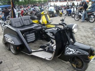 foto modifikasi motor vespa model bmw ~ motorcycle review