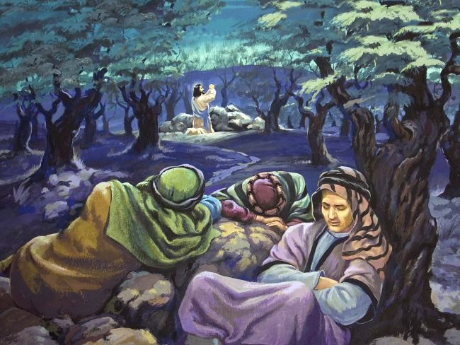 went to pray in the garden of gethsemane they were still in the houseJesus Praying In The Garden Of Gethsemane Painting