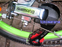 Sepeda Lipat Pacific 20-2980 6 Speed Shimano 20 Inci 3