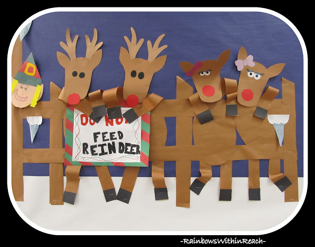 photo of: Reindeer Bulletin Board from Reindeer RoundUP via RainbowsWithinReach