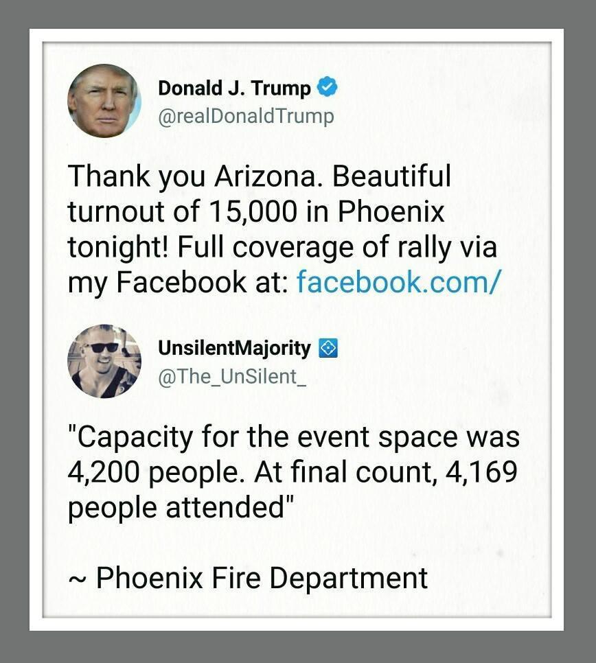 für Trump-Verhältnisse nahezu korrekt