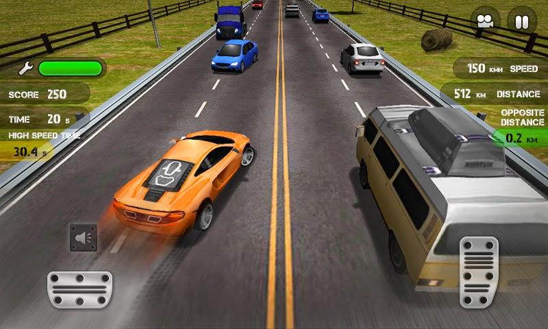 لعبة Race the traffic  للأندرويد