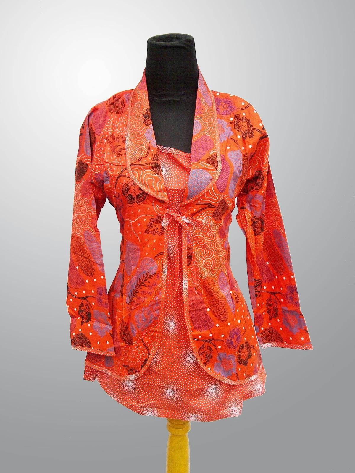 Model Baju Batik Desain Baju Batik Modern Indonesia