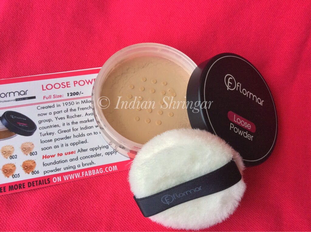 Flormar Loose Powder in Fabbag