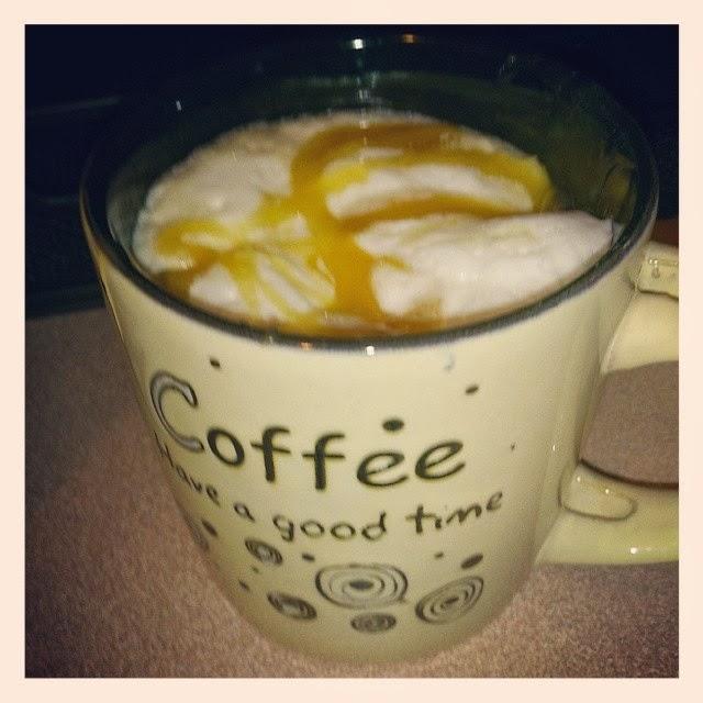 Café Gourmand: Latte et coulis de caramel à la fleur de sel #Keurig