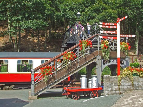 Tourist railway, south Lakes, visit England
