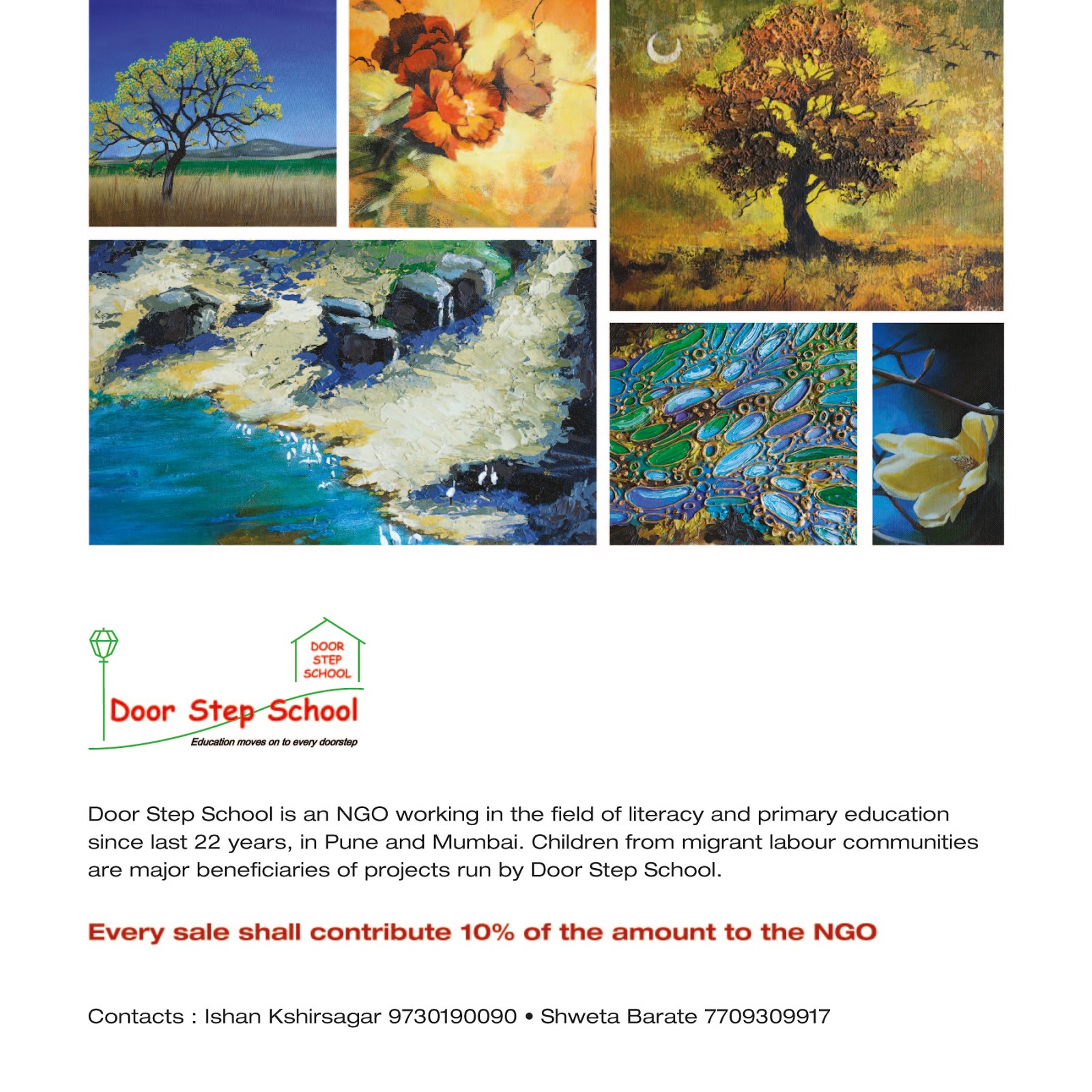 Door step school pune paintings exhibition attached is the invitation card for you to this exhibition please do come and grace the exhibition with your valuable presence stopboris Choice Image