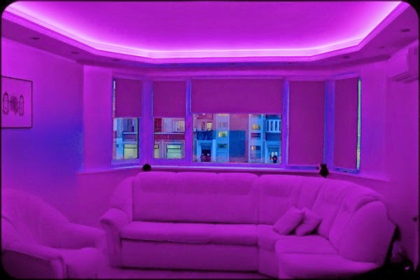 Ceiling Led Lighting Systems : Gypsum false ceiling designs with led lights