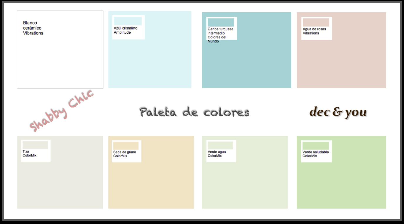 Paleta de colores bruguer elegant con el simulador de - Simulador ambientes bruguer ...