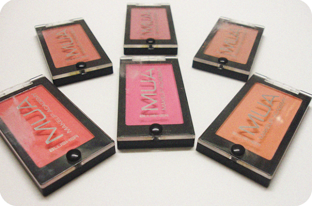 MUA (Makeup Academy) 2013 New blusher shades