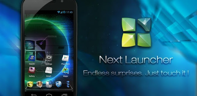 Next Launcher 3D v1.18 APK