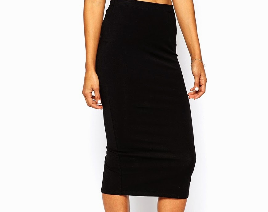 wardrobe essentials, basics,black pencil skirt, asos