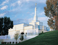 James and I met in the Bismarck, ND LDS Temple ♥