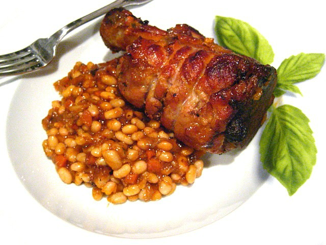 Recipe for smoked pork shank