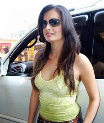 Dia Mirza Hot Pics,