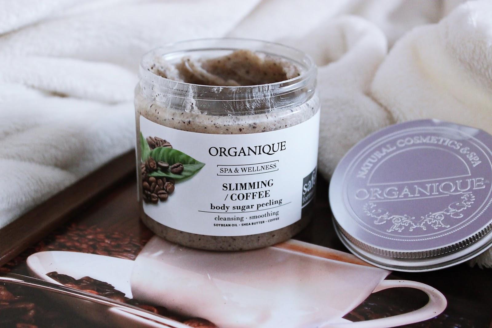 Kawowy peeling cukrowy do ciała Organique