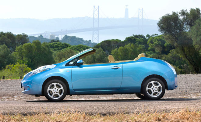 Nissan Leaf convertible
