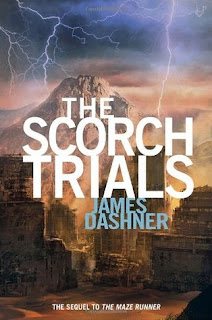 Maze Runner The Scorch Trials Book