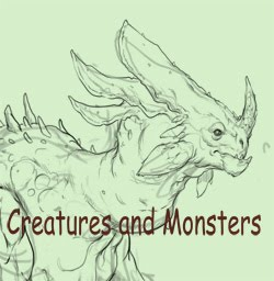 Creatures and monsters