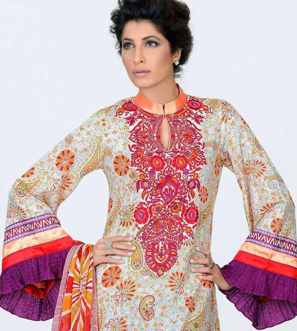 vaneeza v lawn collection 2011 hot images