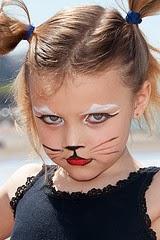 Halloween, Maquillaje Niñas