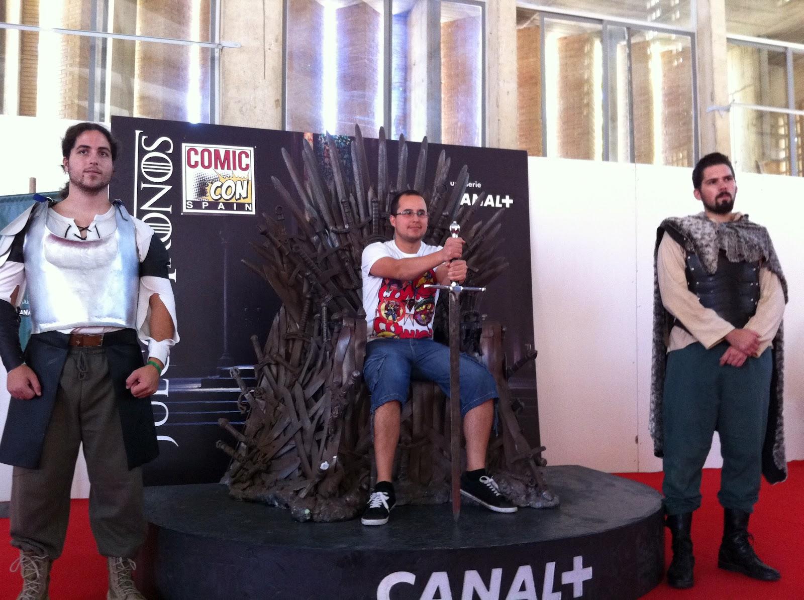 Trono de Hierro en la Comic Con Spain de Jerez