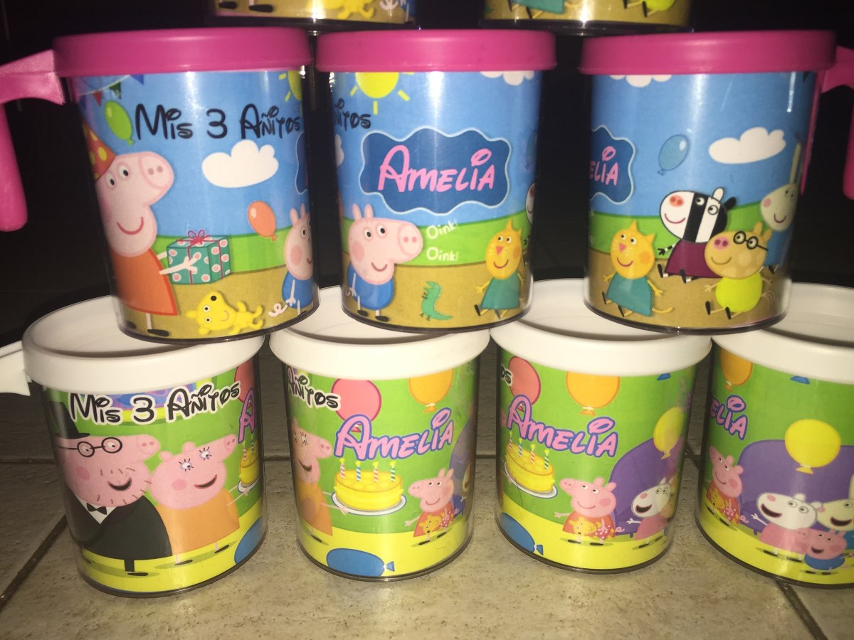 vasos para fiestas infantiles